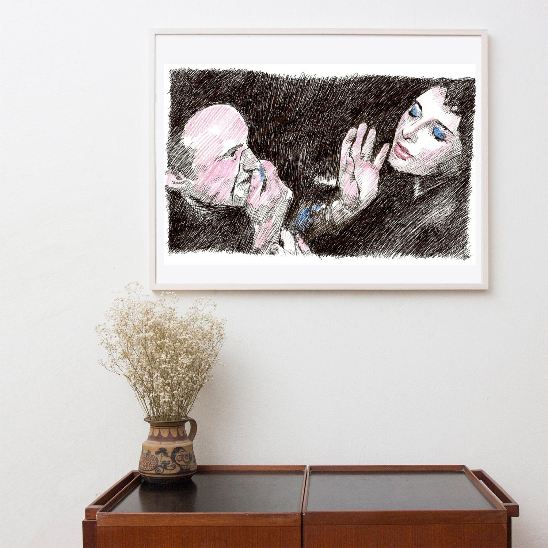 Wall Decor Pop Art : Pop art wall decor original artwork prints painting