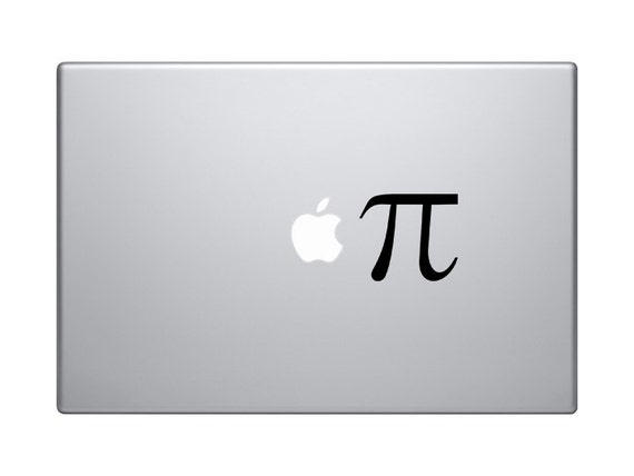 pi symbol on iphone pi symbol macbook decal iphone sticker pi decal symbol 15855