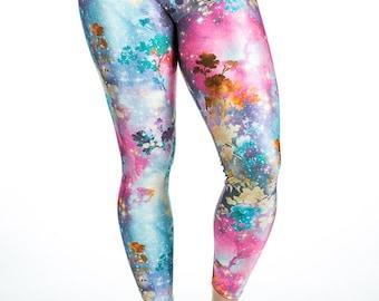 Splendor -High Waisted Spandex Stretch Leggings. Size M