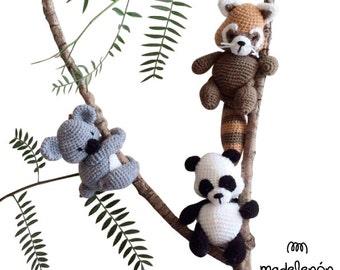"""Madelenon Crochet Pattern """" My Rainforest"""""""