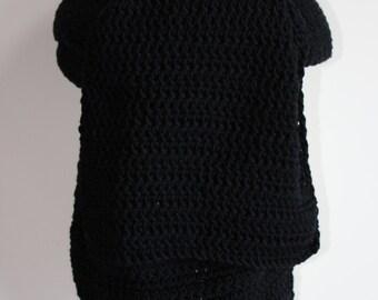 Men scarf, Männerschal for the winter