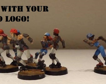 Roller Derby Miniatures, Custom Painted