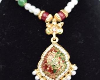 Beautiful handemade necklace