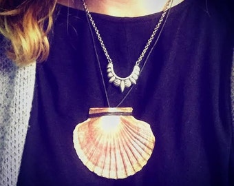 On the Half Shell Necklace