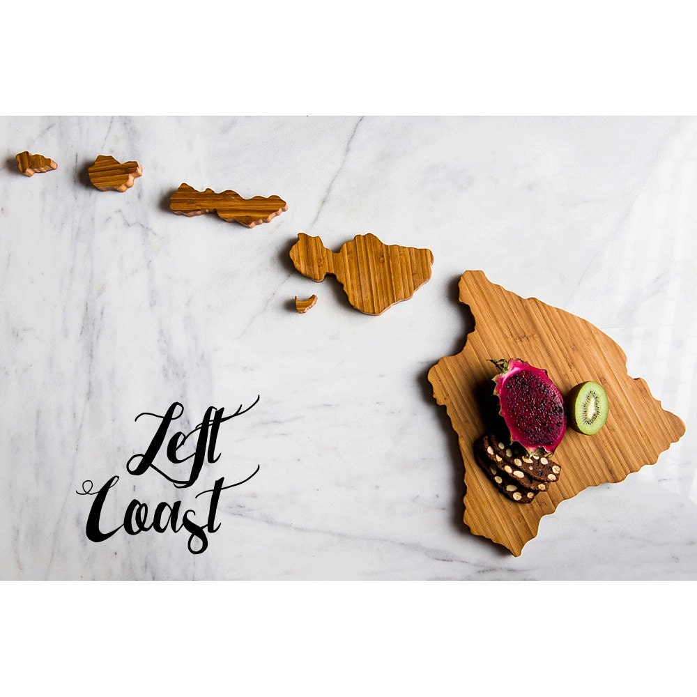 Wedding Gifts From Hawaii: Hawaii Cutting Board Personalized State Wedding Gift Home Men