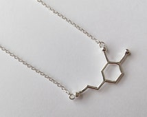 Dopamine Structure Necklace Popular items for dopa...