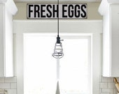 Farmhouse Sign, Rustic Sign, Vintage Inspired Sign, Subway, Fresh Eggs Sign, Farmstand Signs, Kitchen Signs, Shabby Chic Sign, Farm House