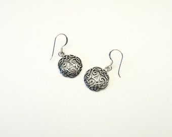 Celtic knot Celtic Silver 925 earrings Triskele