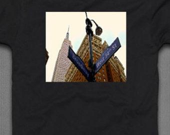 Empire State Via Broadway