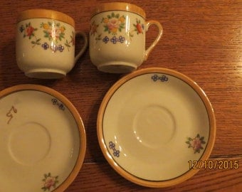 Occupied Japan Made in Occupied Japan Tea cups and saucers