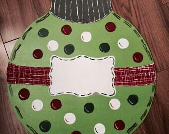 Cute Christmas Tree Ornament Door Hanger