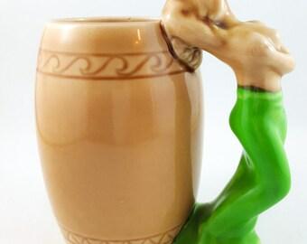Hubba Hubba Mug with Topless Woman Handle