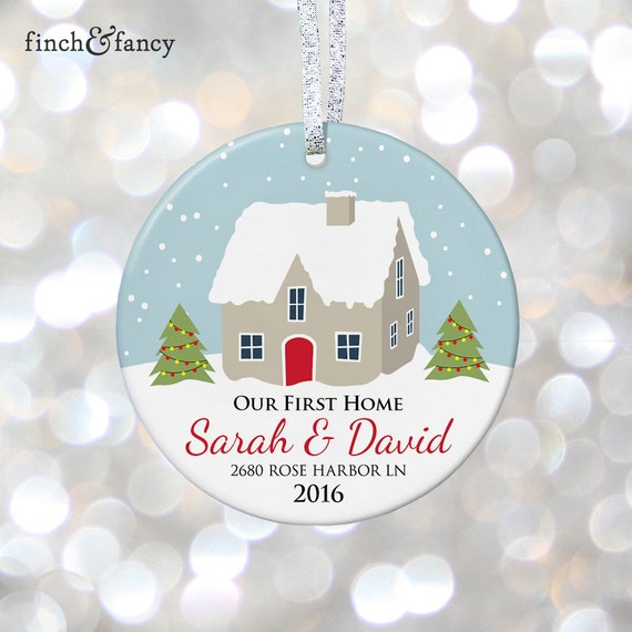 Items Similar To Our First Home Christmas Personalized
