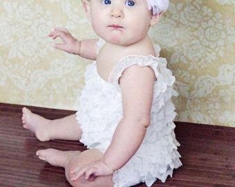 White Headband For Girls Baby Headband Girls Headband Toddler Headband For Babies Flower Headband Toddler Flower Headband Baby Bow Headband