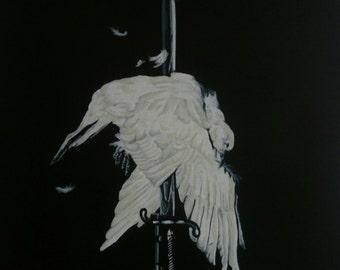 Never Again, Discharge - Giclee Fine Art Print