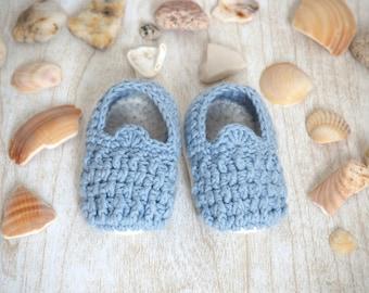 Crochet baby slippers - Crochet baby sandals - Crochet baby shoes - Crochet Baby booties - Baby shower gift