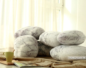 Home Stone Pillow Rock Pillow Pebble Home Floor Pillow Furniture Accessory Office Cushion Stone Prop Pillow Stone Interior Decor-ID:PP007