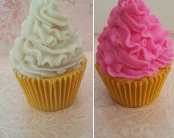 Cupcake Soap Handmade Glycerin Detergent Free Base SLS Free Base