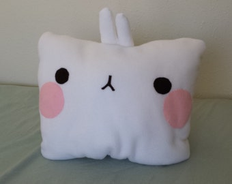 Molang Plush Pillow