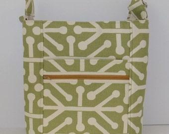 Crossbody Hipster Bag, Premier Print Bag, Free Domestic Shipping