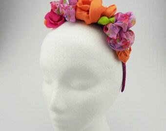 Headband (pink, orange, green, wine)
