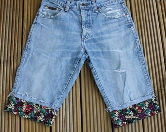 Cropped Wrangler Jeans / Shorts