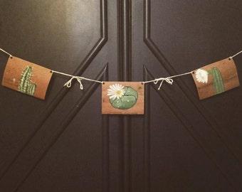 Handmade Flag Lines: Hallucinogenic Cacti