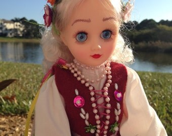 Zosia - Handmade Polish Folk Doll