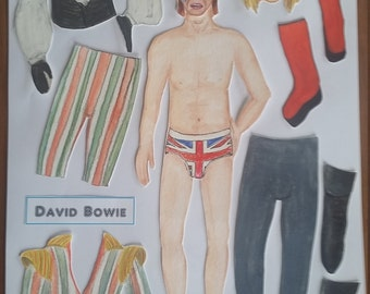 David Bowie 'Paper Doll' Magnet