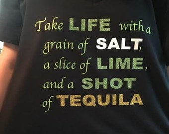Tequila T-shirt or V-neck