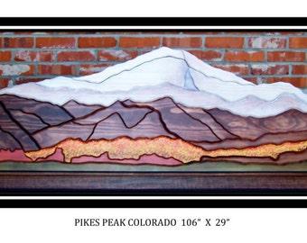 Pike's Peak Panorama