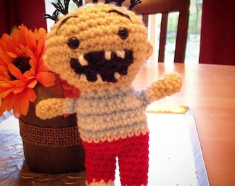 No, David! Inspired David Amigurumi Crocheted Doll