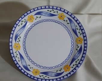 Tiffany & Co. Hand Painted Plate - Trellis Pattern