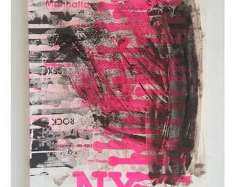 NY , Serigraphy #1/1