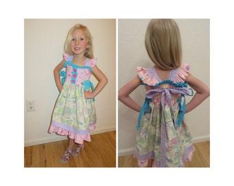 Toddler girls Easter Spring Dress size 3T