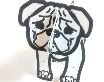 Dog Pug - Printable Toy
