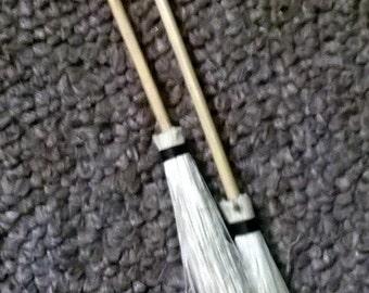 Little Wooden Brooms Set of 2