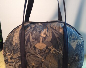 Heart of Darkness Bowler-Style Bag