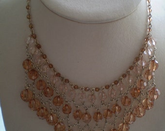 Vintage 3 Tier Necklace