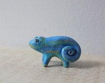 Lizard Miniature Animal Totem Figurine