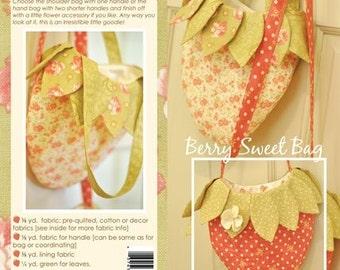 Berry Sweet Bag, Fig Tree Threads