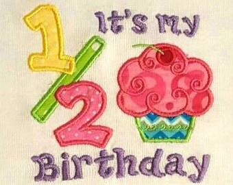It's My Half Birthday Onsie!