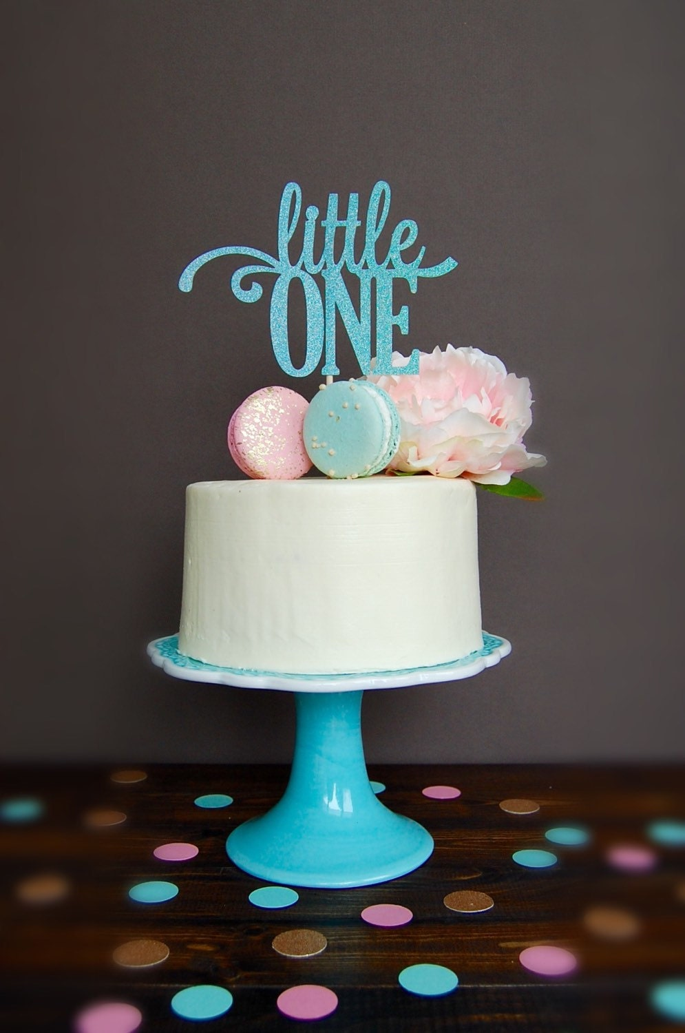 Cake topper baby shower cake topper pregnancy reveal cake for Baby footprints cake decoration