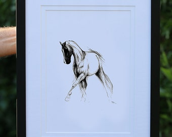 Freestyle IV - Signed, Mounted, Framed Print