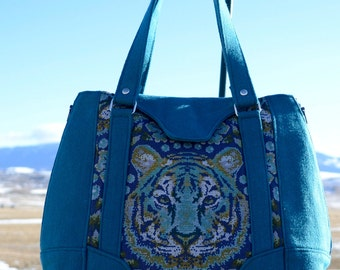 Conceal Carry Harriet Expandable Tote Bag