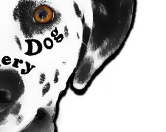 For thek9pack: Spotty Dog logo