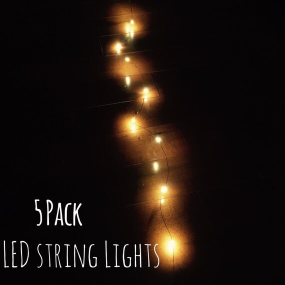 5 LED String Lights Wedding Lights Wedding Centerpiece