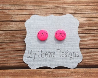 Get Nerdy With Us! Nerd Glasses Earrings