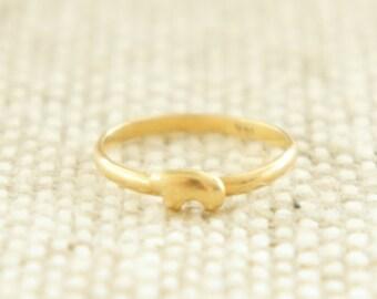 Golden Bear 14K Ring Size 2.75
