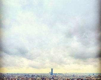 Paris/View/France/Photography/Deco/Relax/Sweet/Trip/Building/Street/City/Life/Cloud/Sky/Dream